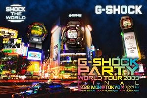 G-SHOCK PARTY WORLD TOUR 2009 Final